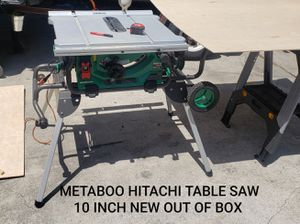 METABOO HITACHI TABLE SAW 10 INCH for Sale in Chino, CA