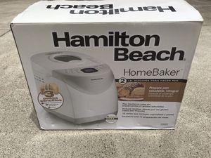 Brand New! Hamilton Beach 2lbs Bread Maker! for Sale in Woodside, CA
