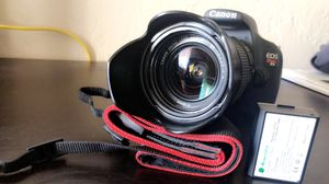 Canon EOS T5Rebel for Sale in Kennewick, WA