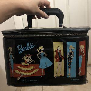 Vintage Barbie black leather patent doll case for Sale in Phoenix, AZ