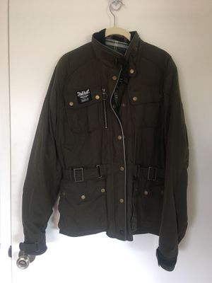 Triumph motorcycle jacket women's large Barbour waxed collection for Sale in Los Angeles, CA