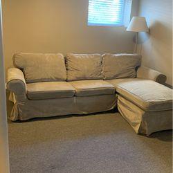 IKEA Ektorp Sofa w/ Chaise for Sale in Berwyn,  IL