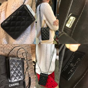 Authentic Chanel CC Phone Holder Bag for Sale in League City, TX