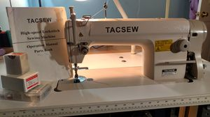 Tacsew industrial sewing machine for Sale in Lakeville, MA