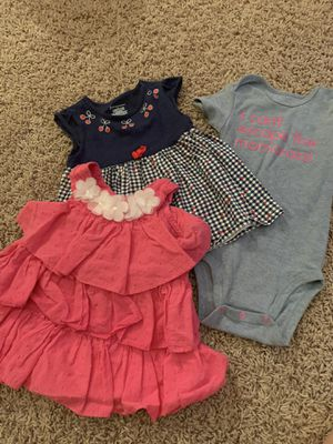Lot of 3 toddler tops 24 month girl for Sale in San Antonio, TX