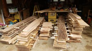 Sawmill Cut Lumber, live edge, perfect for River tables etc. I have very low overhead. Will.beat everyone's price@!! for Sale in Manassas, VA