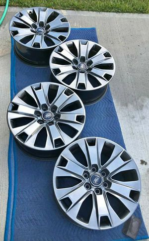 "20"" Ford F150 rims 20 inch F-150 wheels for Sale in Humble, TX"