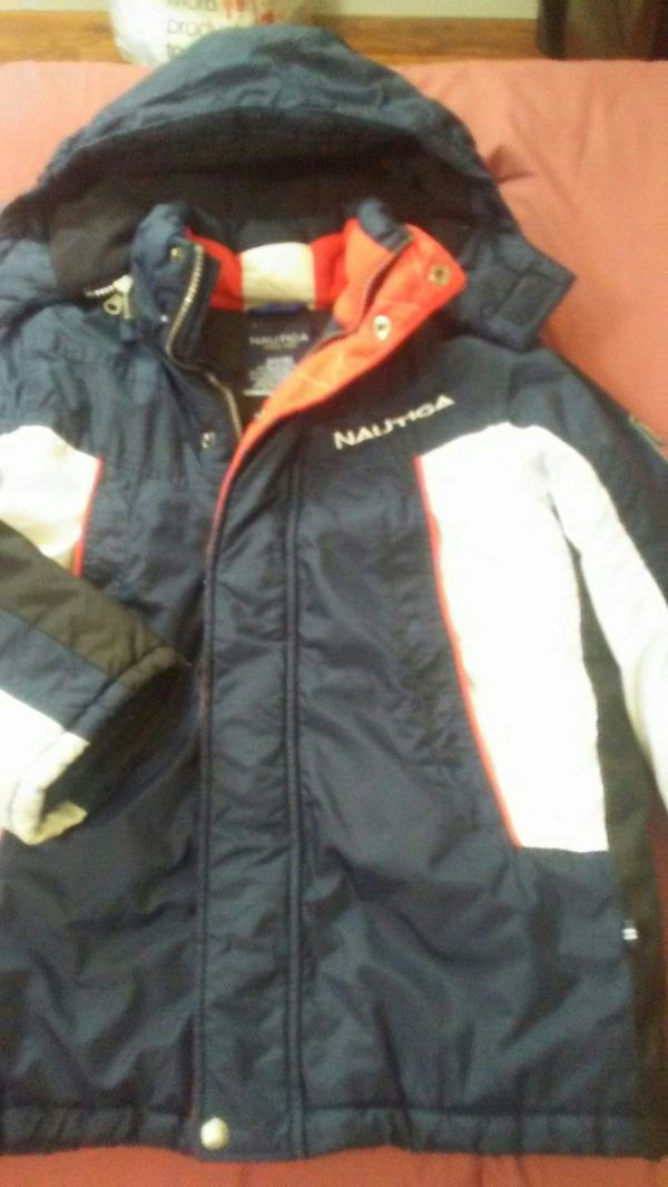Nautica jacket for boys size S , Tommy Hilfiger shirt and sweater and Levis pant size 7 in addition to a new shoe size 3 all of them for $ 50