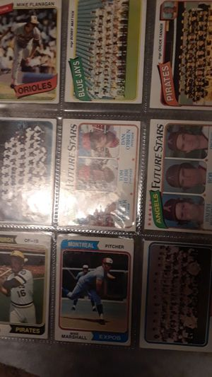 Baseball cards different teams make offer for Sale in Tyler, TX