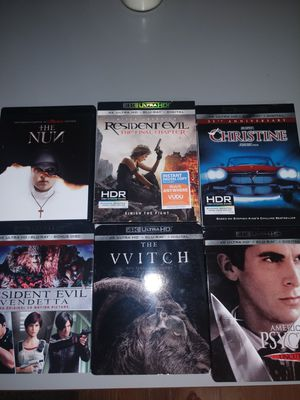 4k uhd blurays for Sale in Durham, NC