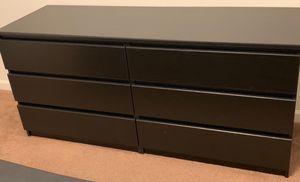 New!! Double Dresser,Furniture,6 Drawer Chest,Bedroom,Dresser-Coffee for Sale in Phoenix, AZ