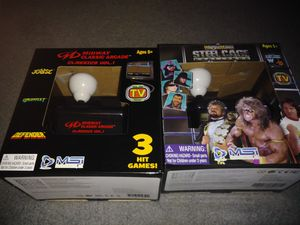 NEW Plug & play video games arcade wwe wwf steel cage challenge midway classics for Sale in West Valley City, UT