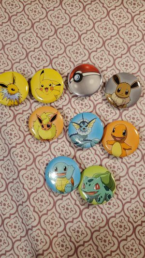Pokemon pins for Sale in Florissant, MO