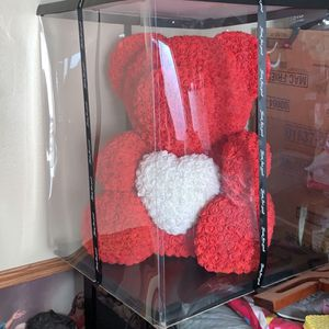 Valentines 25 Inch Rose Bear Giant (delivery If Local) for Sale in Los Angeles, CA