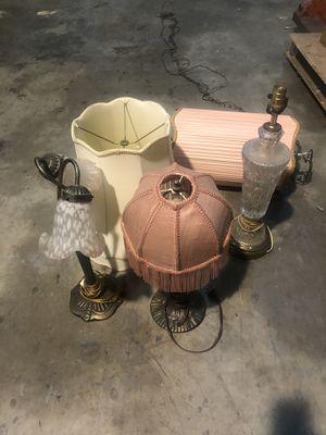 Antique Lamps + Antique Mirrors for Sale in Miami, FL