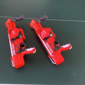 2 Mega Nerf Guns - 15.00 For Both - Good Condition - Pick Up Only for Sale in Weston, FL