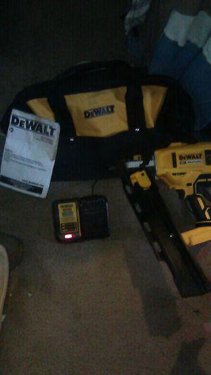 DeWalt 20V Brushless Nail Gun for Sale in Portland, OR