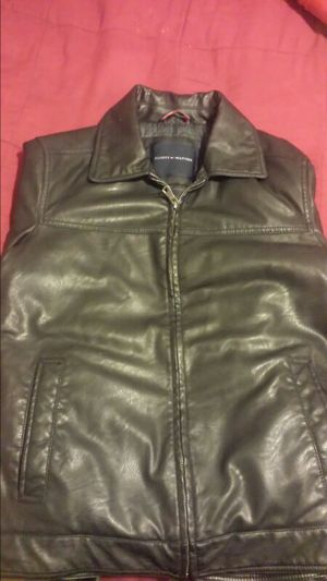 Leather Tommy Hilfiger Jacket ( Men's ) for Sale in Washington, DC