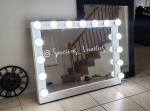 XL makeup and hair vanity mirror 36x46 for Sale in Moreno Valley, CA