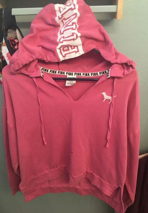 PINK By Victoria's Secret •Hoodie •Longer back• Shorter front• Slouchy look for Sale in Las Vegas, NV