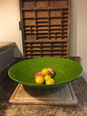 Green Bamboo Bowl for Sale in Moore, SC
