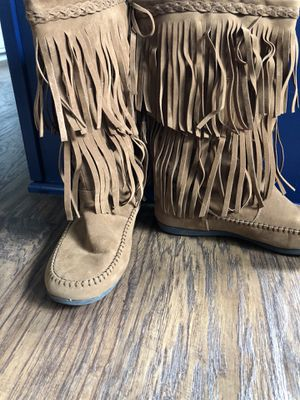 Fringe boots for Sale in Cary, NC
