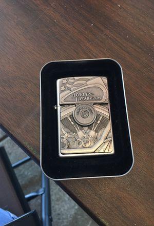 Harley-Davidson Motor Flag Emblem Street Chrome Zippo Lighter for Sale in Schaumburg, IL