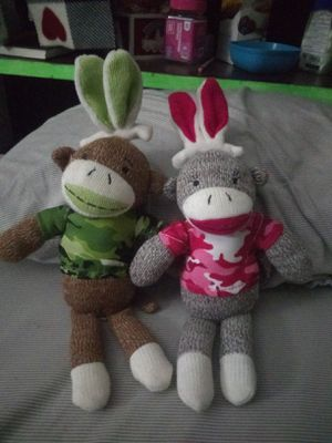 Camouflage Easter Sock Monkey Bundle for Sale in Tempe, AZ