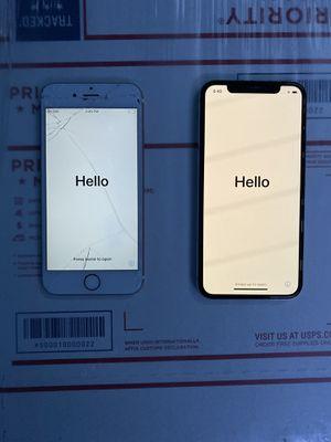 iPhone X iPhone 6s for Sale in Virginia Beach, VA