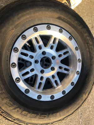 Pro COMP Jeep wheels and tires for Sale in Edgewood, WA