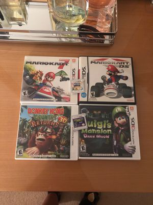 6 games for Nintendo 3DS for Sale in Prospect Heights, IL