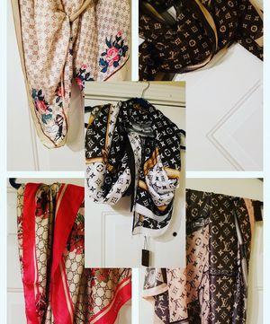 Fashion Scarves. Gucci & LV for Sale for sale  Atlanta, GA