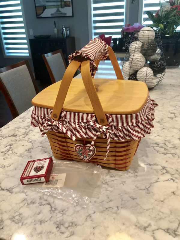 Longaberger 1999 Precious Treasures Basket Set