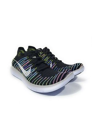 Nike Free RN Flyknit Womens Running Shoes Black Multi Size 10 for Sale in Elk Grove, CA