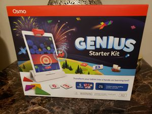 Osmo Genius starter kit for iPad brand new for Sale in Clovis, CA