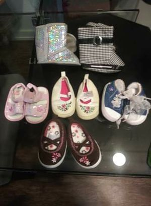 Lot of newborn shoes for Sale in Auburn, WA