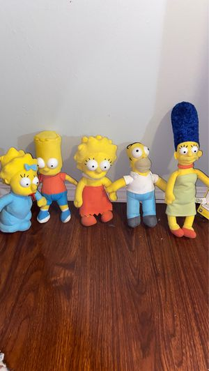 The Simpsons plushies for Sale in Diamond Bar, CA