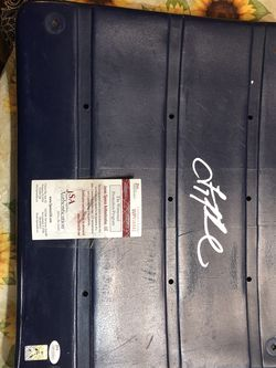 Troy Aikman Signed Stadium Seat From Old Cowboys Stadium for Sale in San Angelo,  TX
