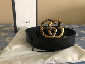 Gucci Snake Brass GG Belt *Authentic* for Sale in Queens, NY