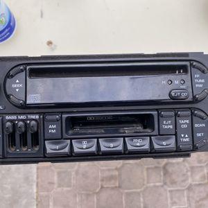 Chrysler Original AM/FM, Cassette, CD, Equalizer Player for Sale in North Las Vegas, NV