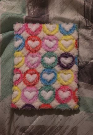 Little notebook with colorful hearts on it for Sale in Alexandria, VA