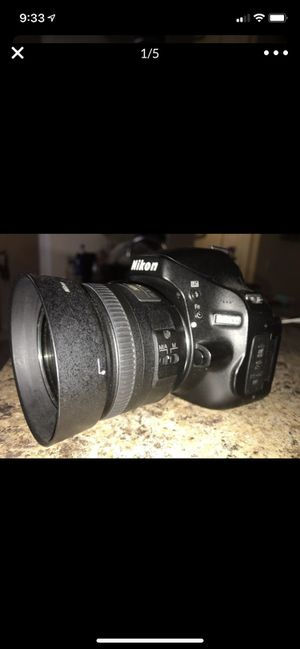Nikon D5100 w/ 35mm and 55-200mm price is FIRM for Sale in Wesley Chapel, FL