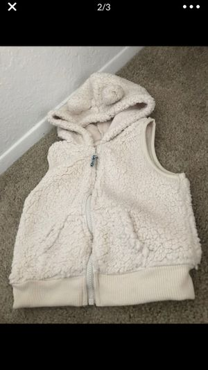 18 months carters Sherpa vest for Sale in Imperial Beach, CA