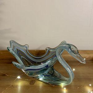 Swan Art Glass | Murano Style for Sale in Berwyn, IL