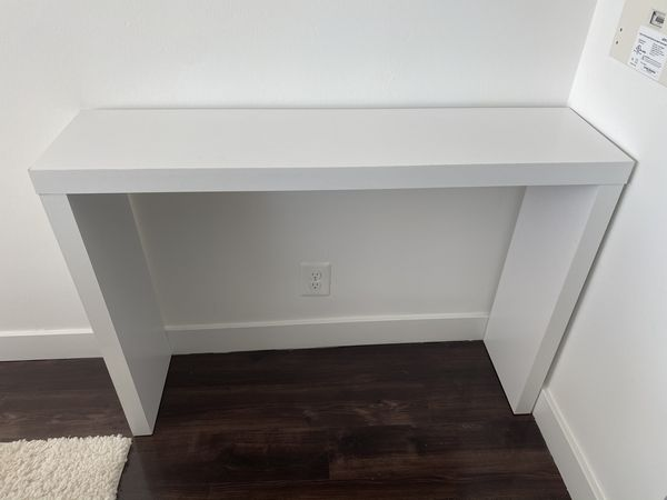 White Entryway/Console Table