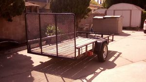 Utility trailer 5x10ft with ramp for Sale in South Gate, CA