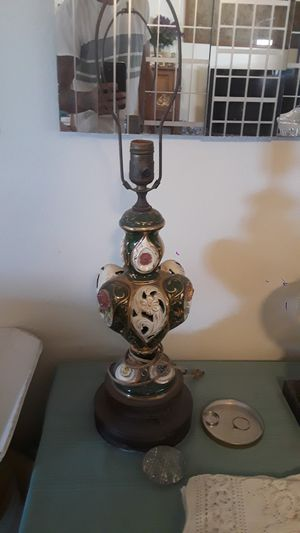 antique hand painted porcelain lamps for Sale in Bonita, CA