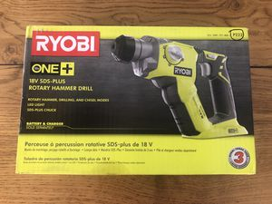 Rotary hammer drill, Ryobi, model P222 for Sale in Coral Gables, FL