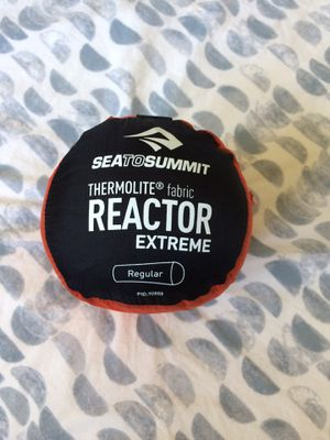 NWOT Sea to Summit Thermolite Reactor Extreme Sleeping Bag Liner (Adds up to 25°) for Sale in Portland, OR