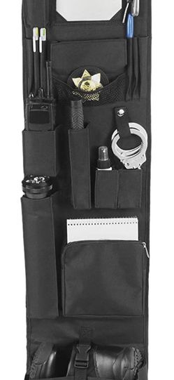 "New Black EXPLORER LB1 Police Style Hanging Closet Door Organizer 11"" x 52""-Locker Org, Black for Sale in Quincy,  MA"